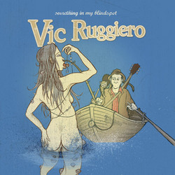 Vic Ruggiero – Something in my Blindspot (CD-Cover)
