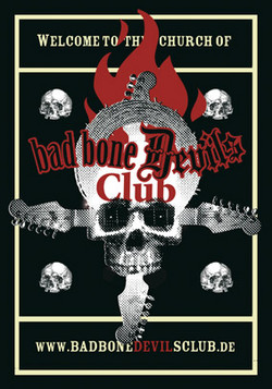 Aufkleber: Bad Bone Devils Club