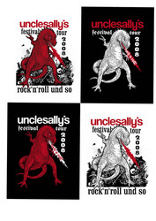 14.	unclesally*s T-Shirts Festival-Tour 2008/unclesally*s T-Shirts festival-tour 2008
