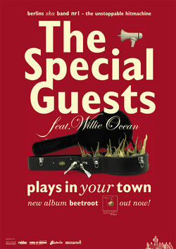 Plakat: The Special Guests Tourplakat